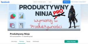społeczność produktywny ninja dołącz