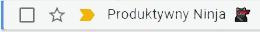 mail produktywny ninja inbox gmail